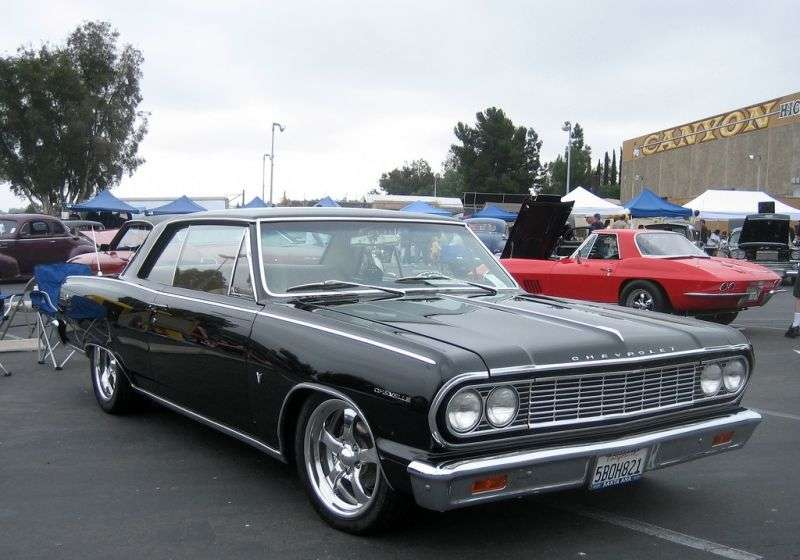Chevrolet Chevelle 1st generation Sport Coupe Coupe 4.6 4MT (1964–1964)