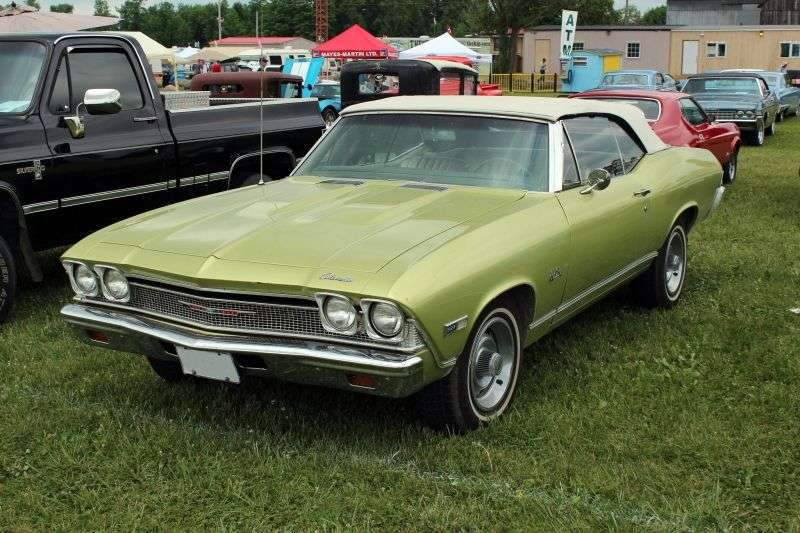 Chevrolet Chevelle 2nd generation Convertible 4.1 Powerglide (1968–1968)