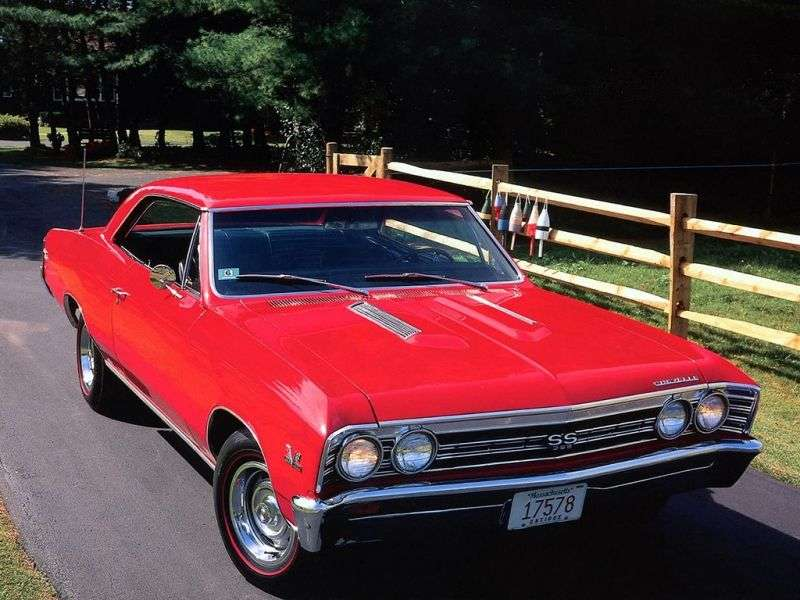 Chevrolet Chevelle 1st generation [3rd restyling] Sport Coupe Coupe 3.8 Synchromesh HD (1967–1967)