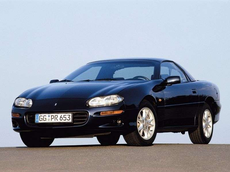 Chevrolet Camaro 4th generation [restyling] coupe 5.7 AT (2001–2002)