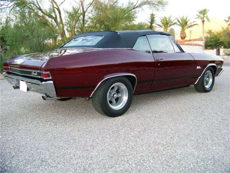 Chevrolet Chevelle 2nd generation convertible 6.5 Turbo Hydra Matic (1968–1968)