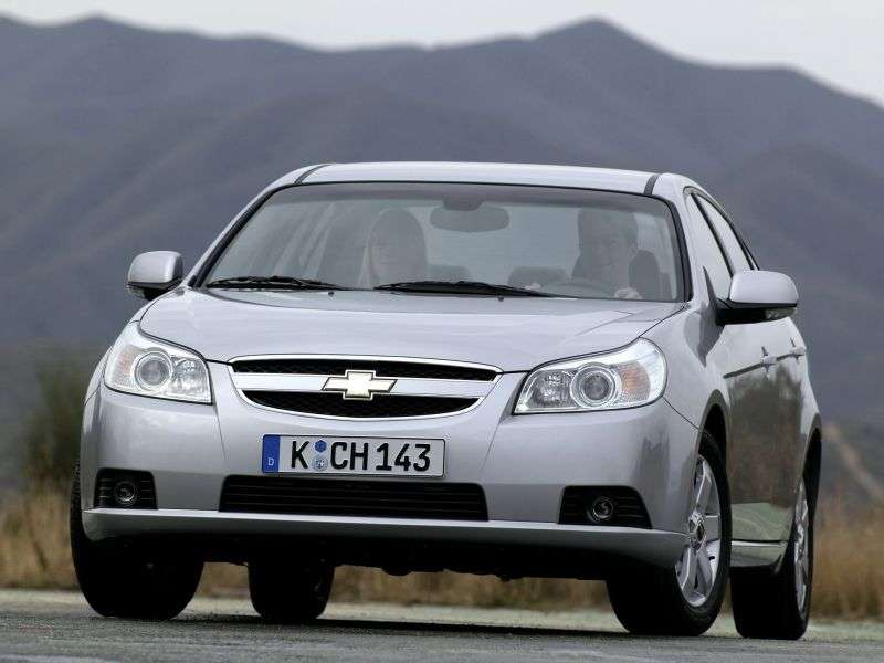 Chevrolet Epica 1st generation 2.0 AT LT sedan (1VM69M2FE) (2006–2012)