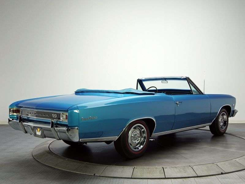 Chevrolet Chevelle 1st generation [2nd restyling] SS convertible 2 dv. 6.5 Powerglide (1966–1966)