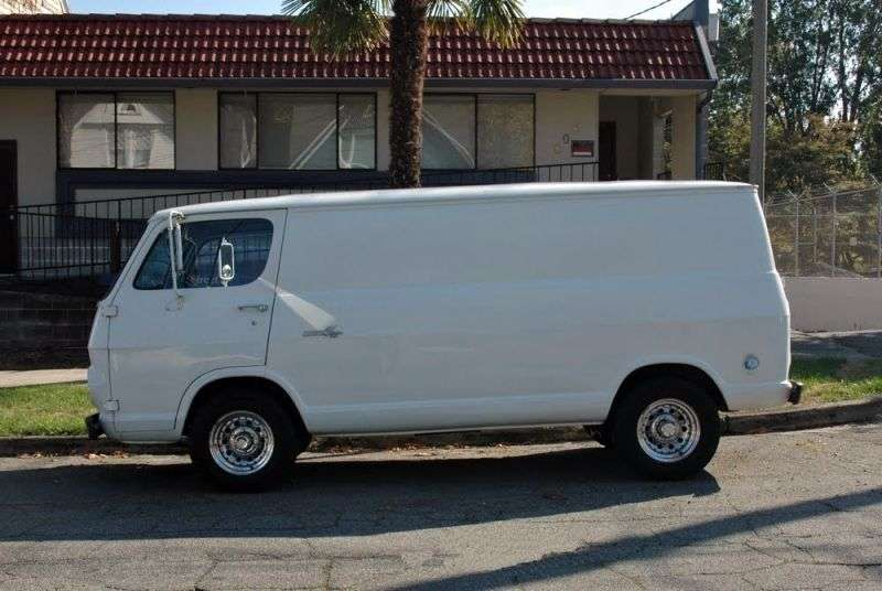 Chevrolet Chevy Van 1st generation 2.5 Powerglide wagon (1964–1965)