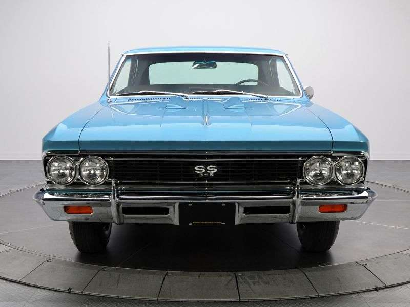 Chevrolet Chevelle 1st generation [2nd restyling] Sport Coupe SS Coupe 6.5 4MT (1966–1966)