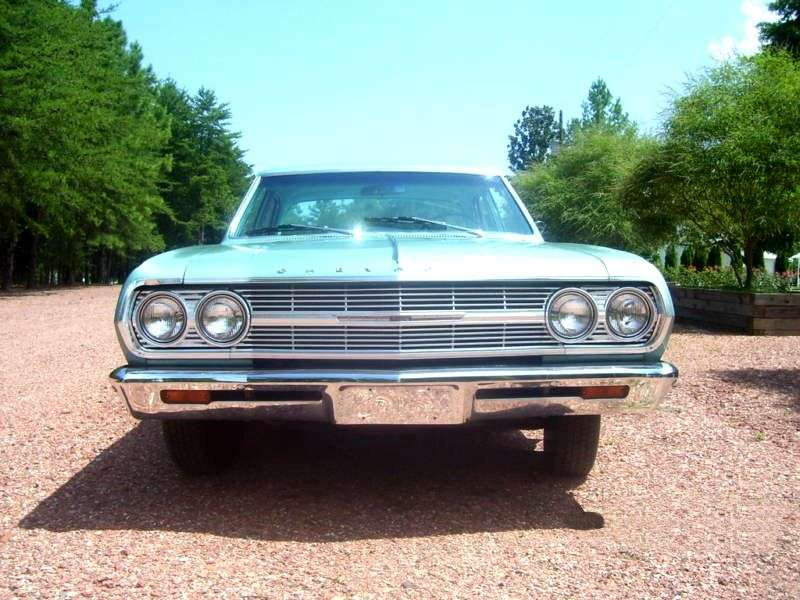 Chevrolet Chevelle 1st generation [restyling] 4.6 Powerglide sedan (1965–1965)