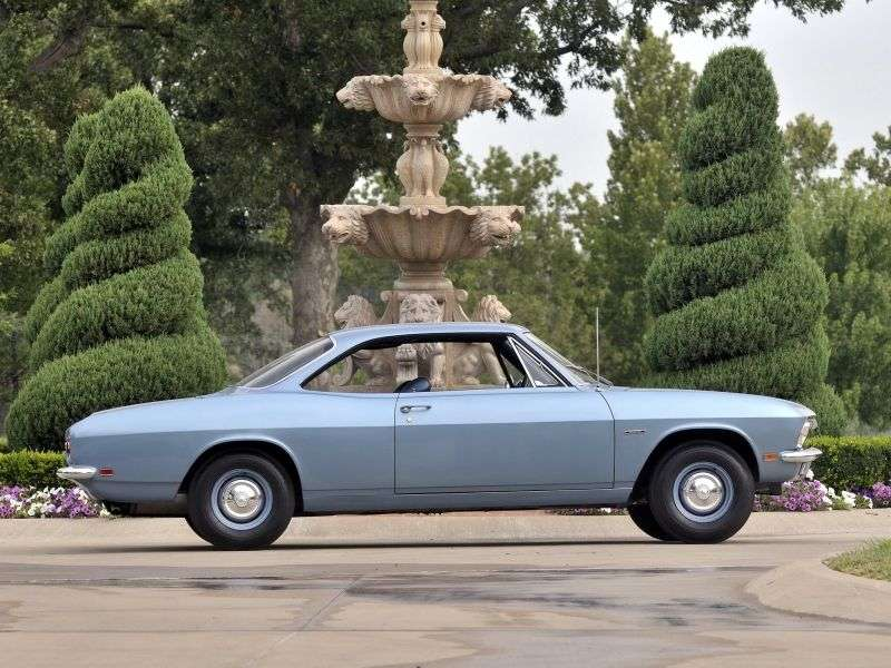 Chevrolet Corvair 2nd generation [restyling] coupe 2.7 Turbocharged 3MT (1966–1967)