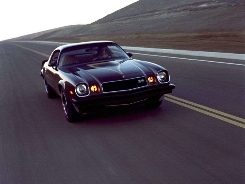 Chevrolet Camaro 2 drzwi [zmiana stylizacji] Z28 coupe 2 drzwi. 5.7 Turbo Hydra Matic (1974 1977)