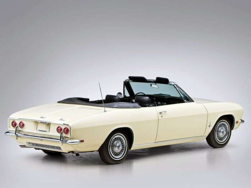 Chevrolet Corvair 2nd generation [restyling] 2.7 Powerglide convertible (1966–1969)