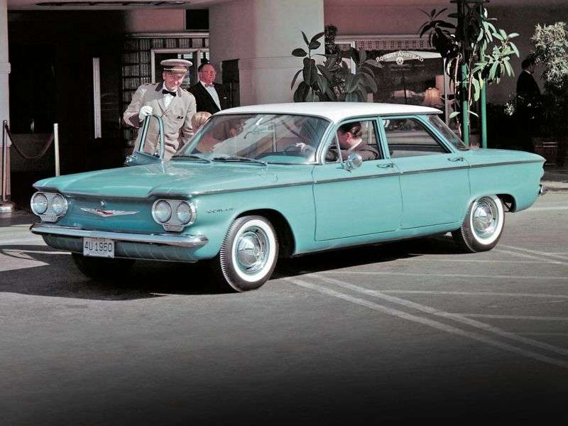 Chevrolet Corvair 1st generation 2.3 Powerglide sedan (1960–1960)