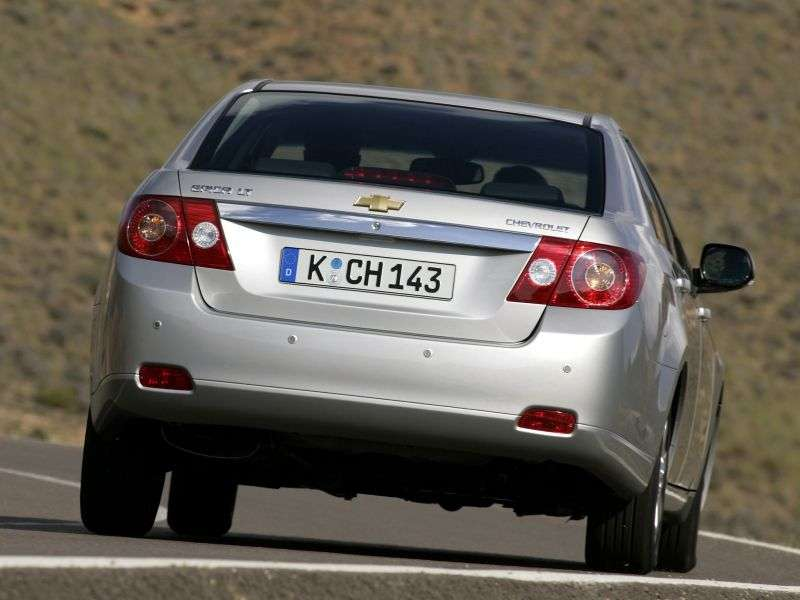Chevrolet Epica 1st generation 2.0 MT LS sedan (1VL69M3G1) (2006–2012)