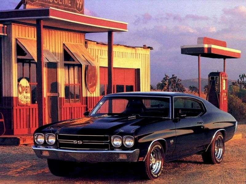 Chevrolet Chevelle 2nd generation [2nd restyling] Sport Coupe Coupe 7.4 MT HD (1970–1970)
