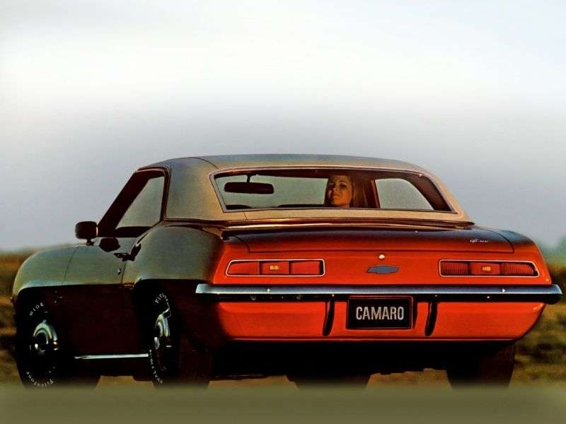 Chevrolet Camaro 1st generation [2nd restyling] coupe 2 dv. 3.8 Powerglide (1969–1969)