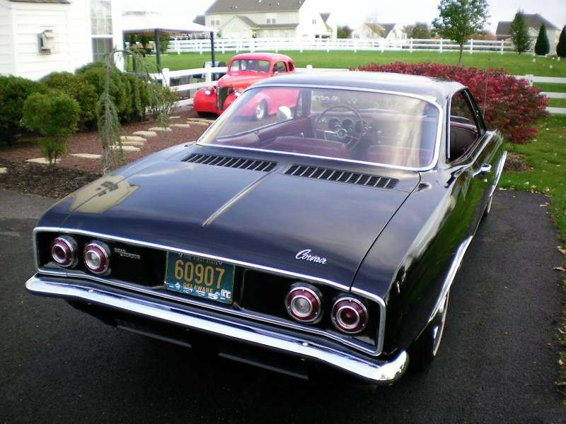 Chevrolet Corvair 2nd generation coupe 2.7 Turbocharged 3MT (1965–1965)