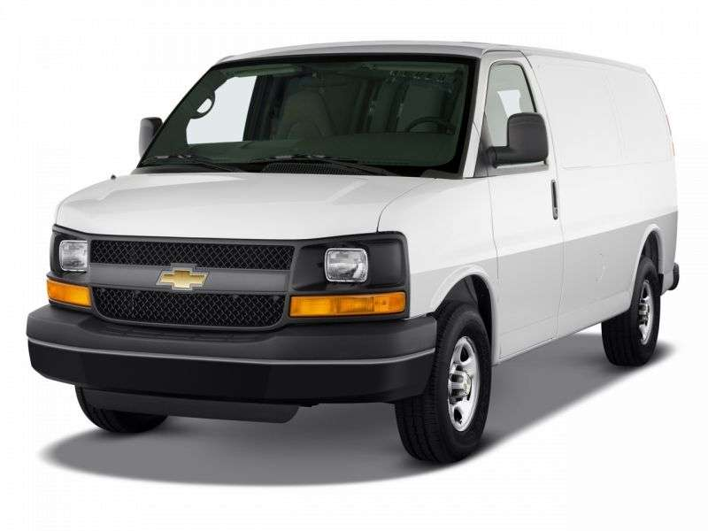 Chevrolet Express 1st generation [restyled] van 6.0 Flexfuel AT Extended 3500 (2010 – n.)