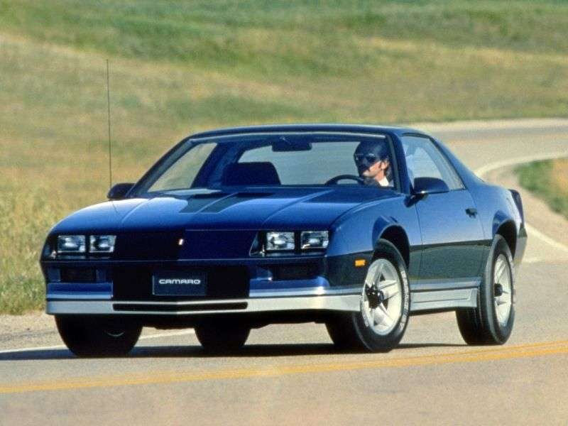 Chevrolet Camaro 3rd generation Z28 coupe 2 bit. 5.0 AT (1982 1982)