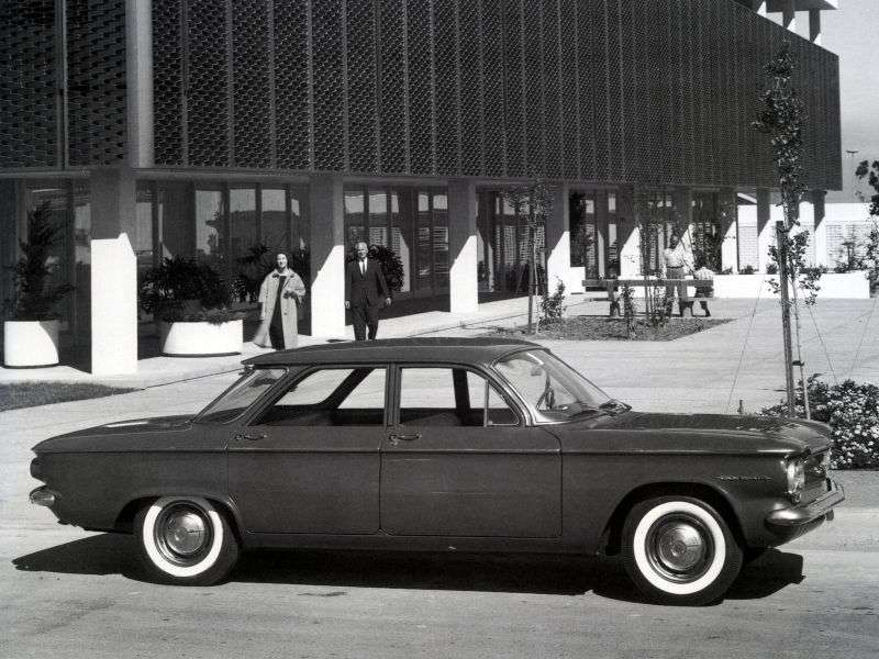 Chevrolet Corvair 1st generation 2.3 sedan Synchromesh (1960–1960)