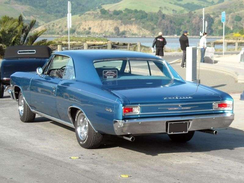 Chevrolet Chevelle 1st generation [2nd restyling] Sport Coupe Coupe 2 dv. 4.6 4MT (1966–1966)