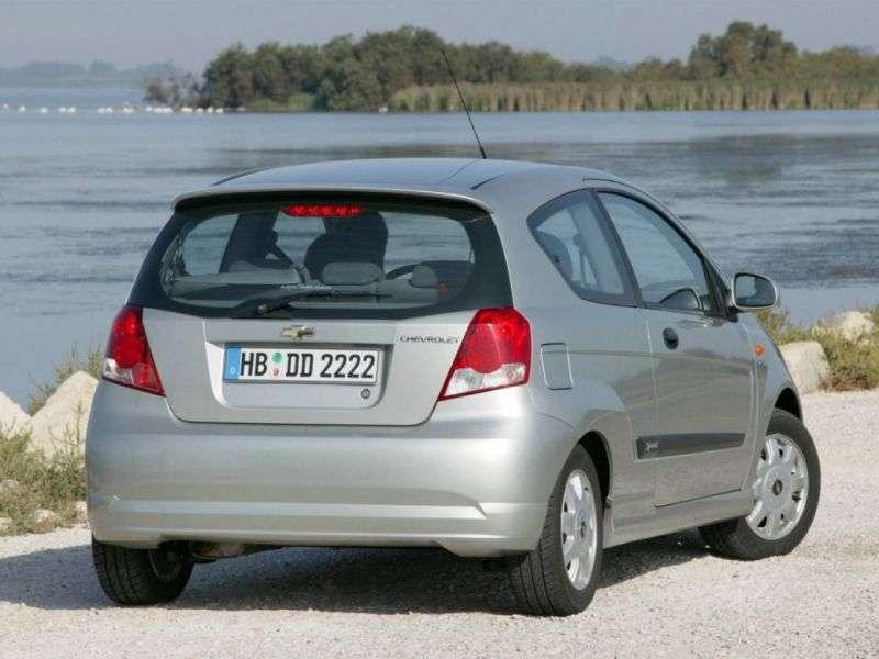 Chevrolet Aveo T200khetchbek 3 dv. 1.4i AT (2003–2008)