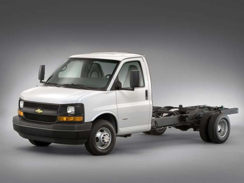 Chevrolet Express 1st generation [restyled] Cutaway chassis 4.8 AT MWB (2010 – v.)