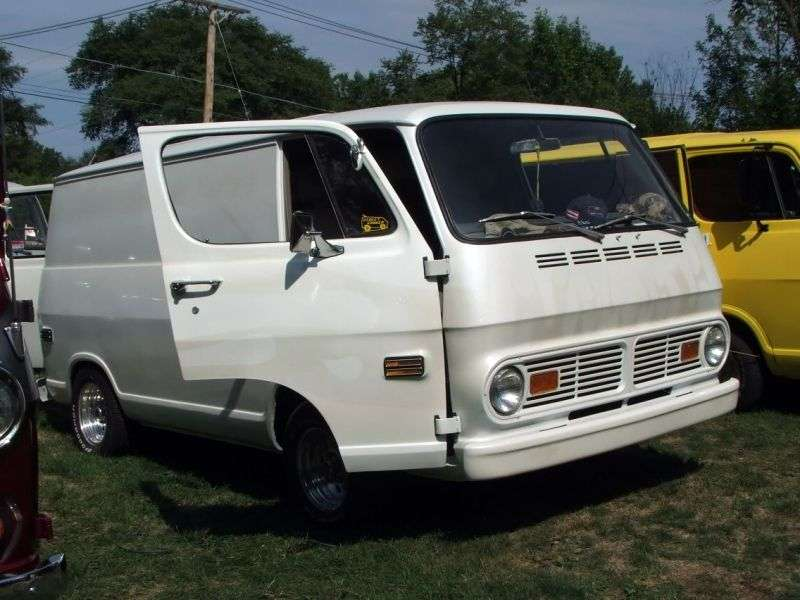 Chevrolet Chevy Van 2nd generation van 3.8 4MT G20 (1968–1969)