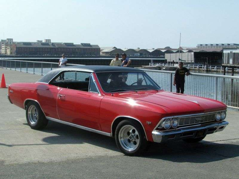 Chevrolet Chevelle 1st generation [2nd restyling] Sport Coupe Coupe 2 dv. 4.6 3MT (1966–1966)