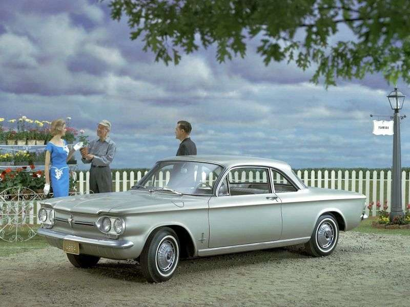 Chevrolet Corvair 1st generation [2nd restyling] coupe 2.4 3Synchromesh (1962–1962)