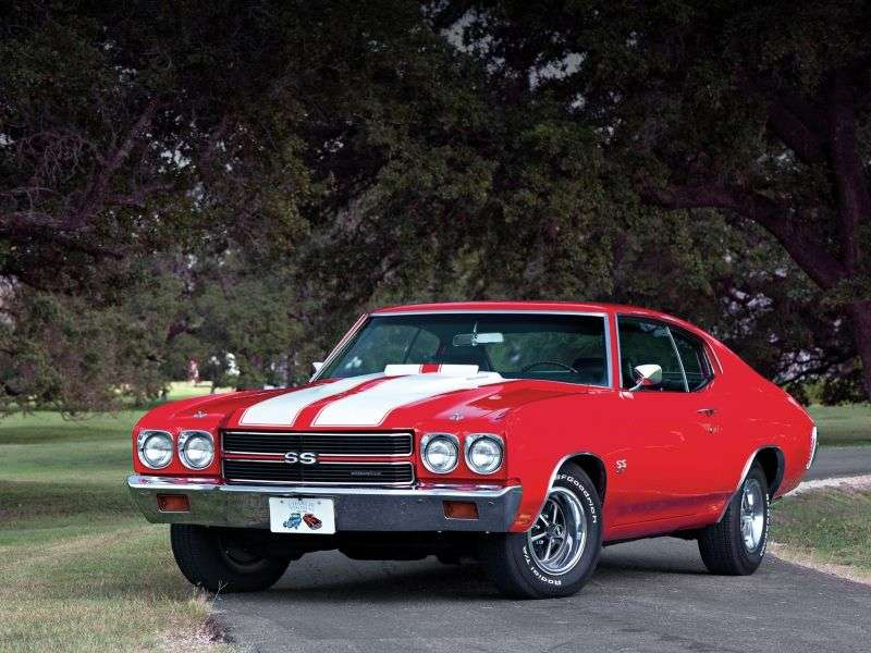Chevrolet Chevelle 2nd generation [2nd restyling] Sport Coupe Coupe 5.7 4MT (1970–1970)