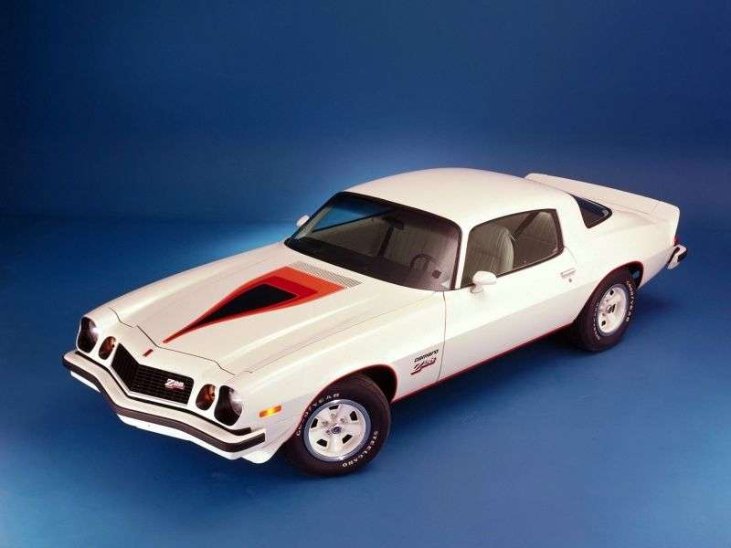 Chevrolet Camaro 2nd generation [restyling] Z28 coupe 2 dv. 5.7 Turbo Hydra Matic (1974–1977)