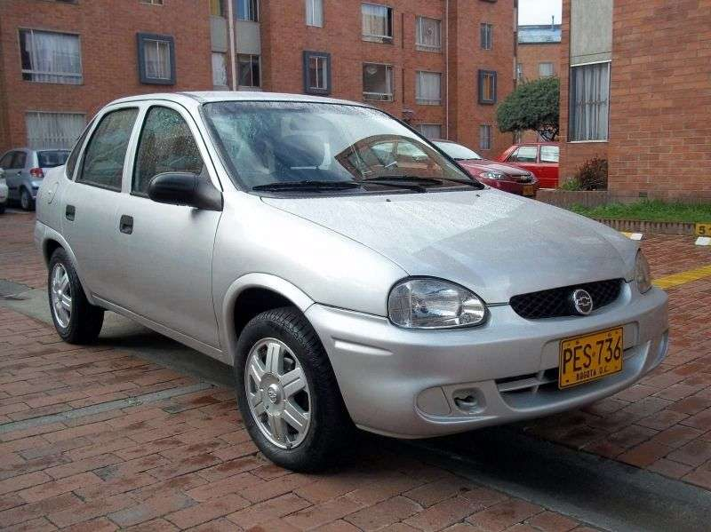 Chevrolet Corsa 1st generation 1.0 MT sedan (1999–2002)