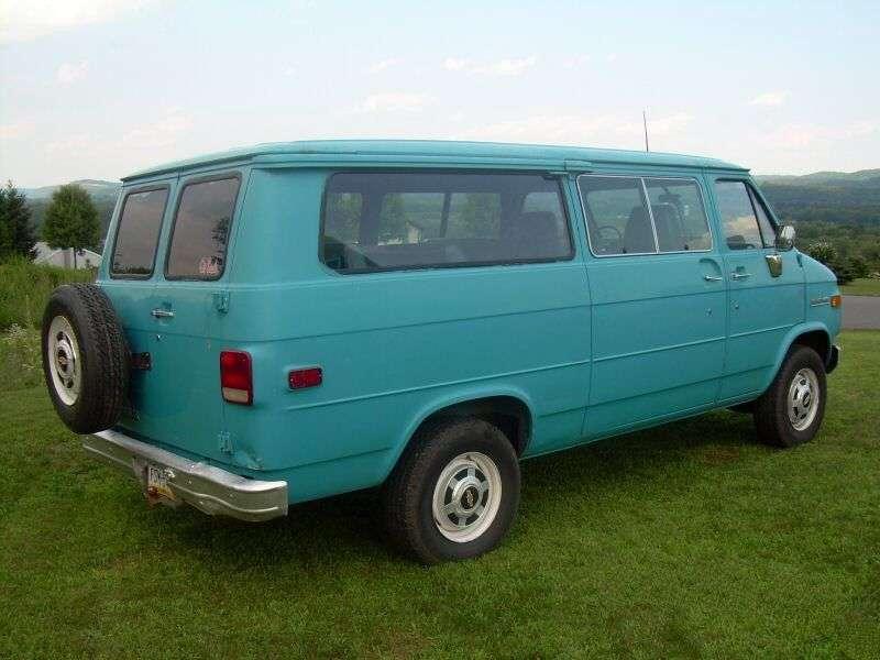 Chevrolet Chevy Van 3rd generation [3rd restyling] Sportvan minivan 5.0 AT Overdrive G10 (1983–1986)