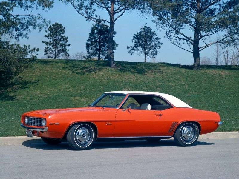 Chevrolet Camaro 1st generation [2nd restyling] coupe 2 dv. 4.1 4MT (1969–1969)