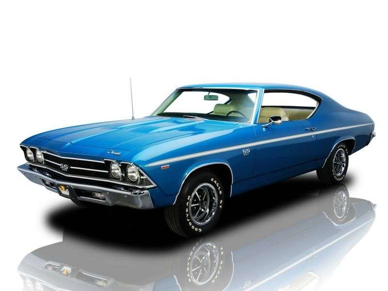 Chevrolet Chevelle 2nd generation [restyling] Sport Coupe Coupe 6.5 Turbo Hydra Matic (1969–1969)