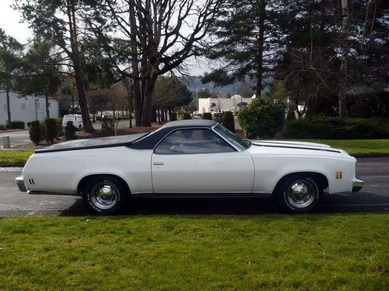 Chevrolet El Camino 4th generation [3rd restyling] Classic pickup 5.7 Turbo Hydra Matic (1976–1976)