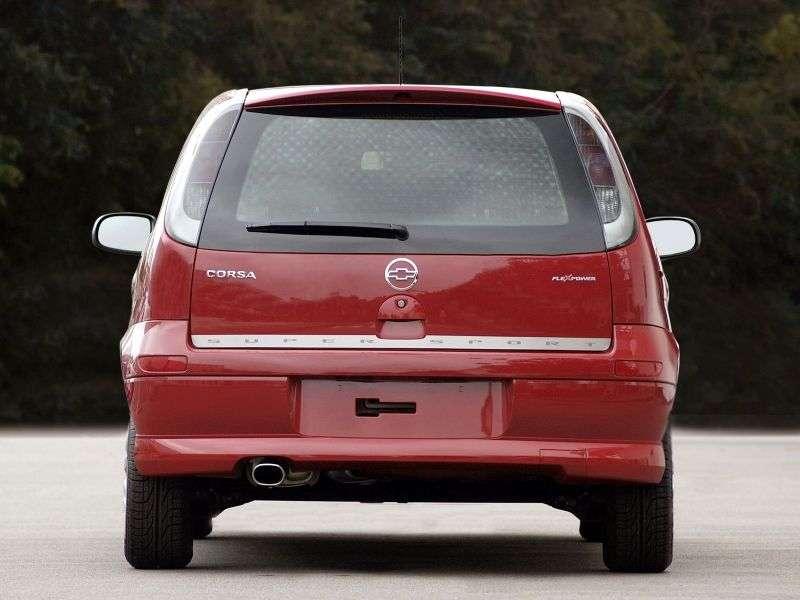 Chevrolet Corsa 2nd generation SS hatchback 5 bit. 1.8 Flexfuel MT (2007–2009)