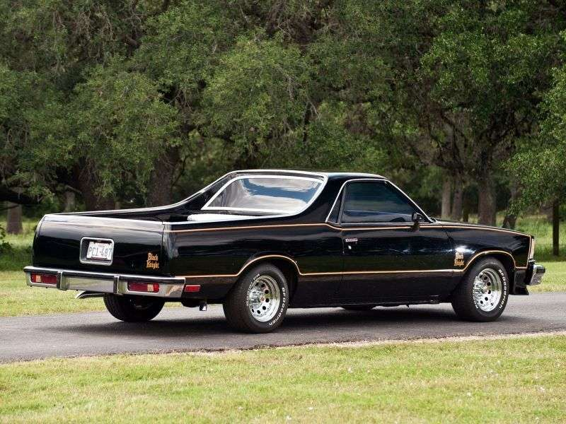 Chevrolet El Camino 5th generation Black Knight pickup 3.3 MT (1978 1978)
