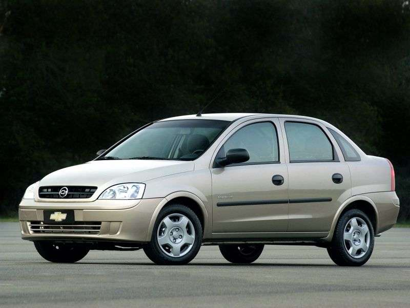 Chevrolet Corsa 2nd generation sedan 1.8 Flexpower MT (2005–2009)