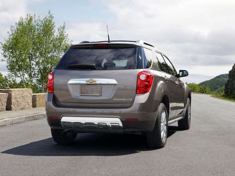 Chevrolet Equinox 2nd generation crossover 2.4 Ecotec AT 4WD (2010 – n.)