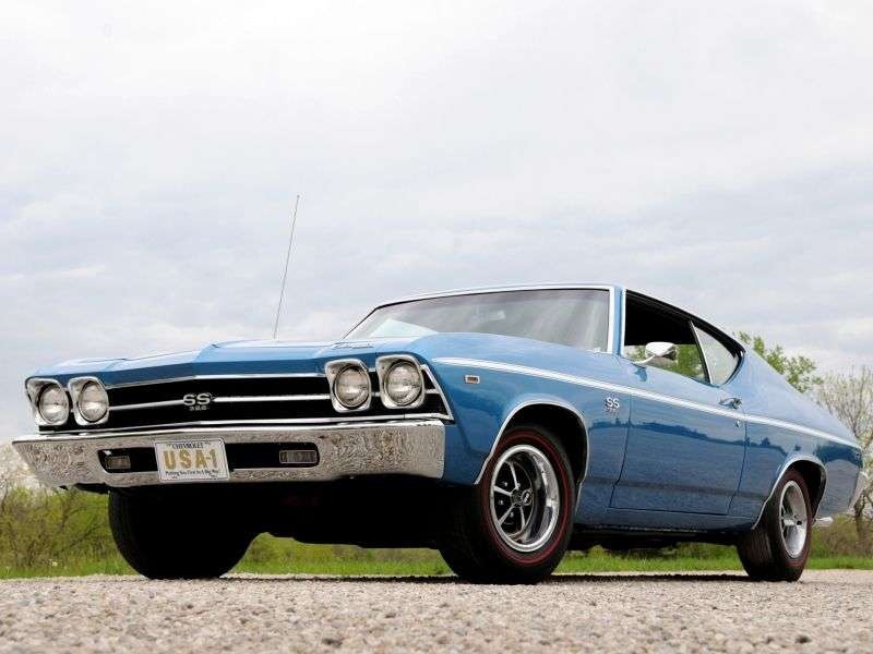 Chevrolet Chevelle 2nd generation [restyling] Sport Coupe Coupe 4.1 Powerglide (1969–1969)