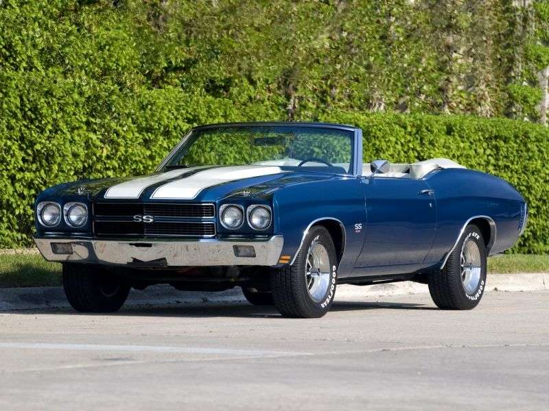 Chevrolet Chevelle 2nd generation [2nd restyling] convertible 4.1 Powerglide (1970–1970)