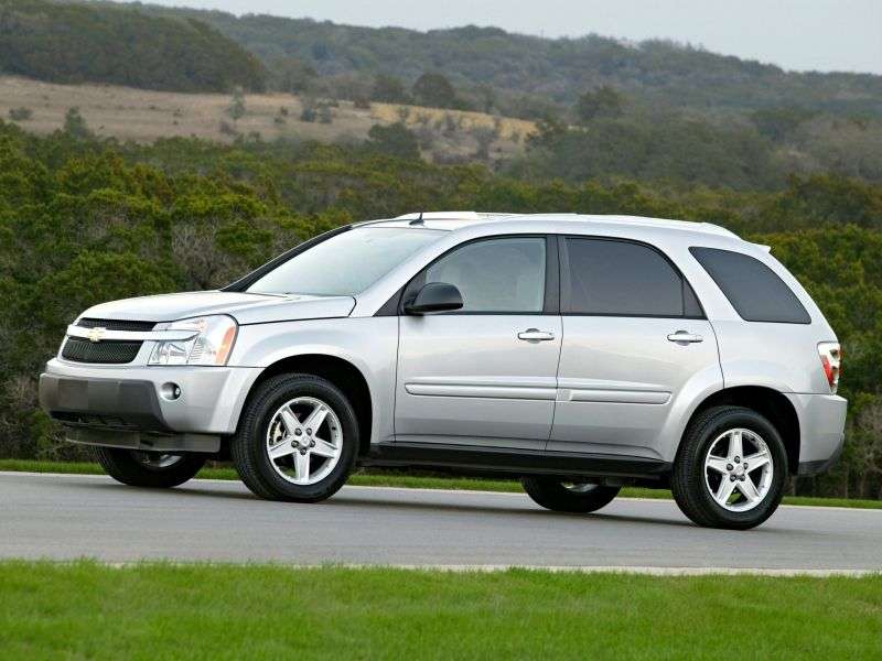 Chevrolet Equinox 1st generation crossover 3.6 6AT AWD Sport (2008–2009)