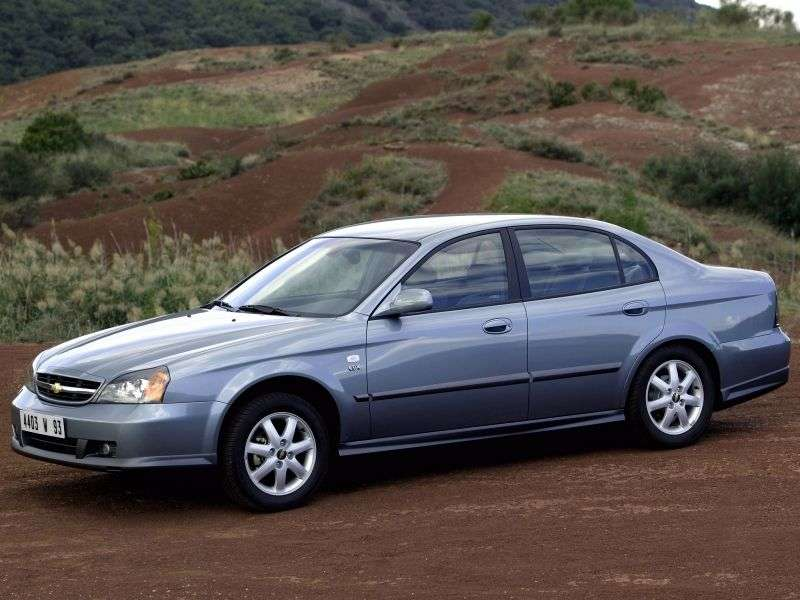 Chevrolet Evanda 1st generation 2.0 MT sedan (2004–2006)