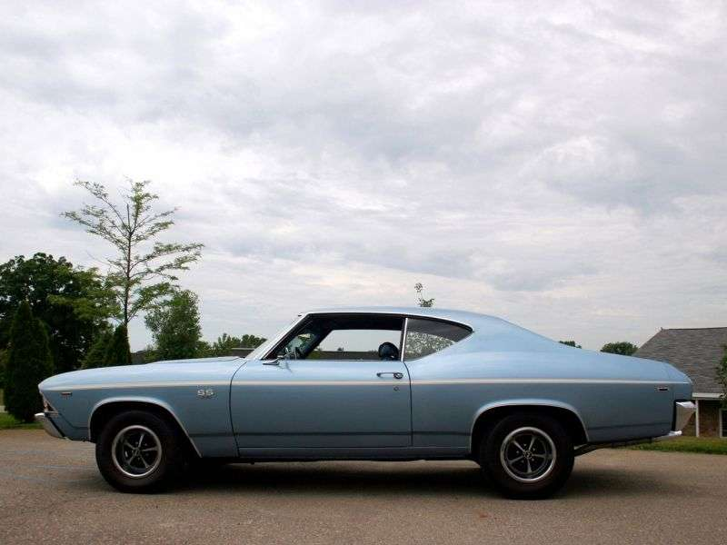 Chevrolet Chevelle 2nd generation [restyling] Sport Coupe Coupe 5.7 Powerglide (1969–1969)