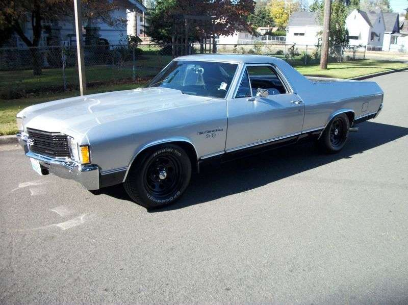 Chevrolet El Camino 3rd generation [4th restyling] pickup 4.1 MT (1972–1972)