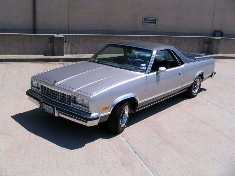 Chevrolet El Camino 5th generation [4th restyling] Classic pickup 3.8 AT (1983–1984)