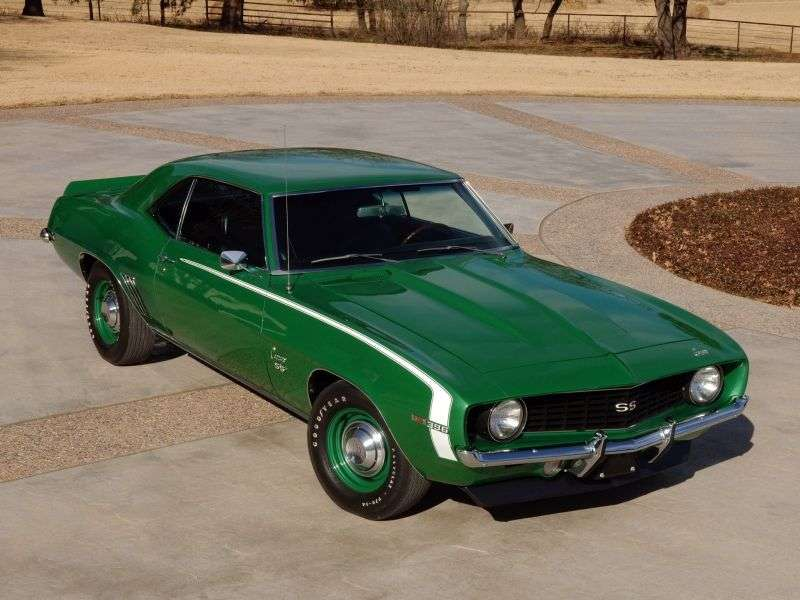 Chevrolet Camaro 1st generation [2nd restyling] coupe 2 dv. 5.7 4MT (1969–1969)