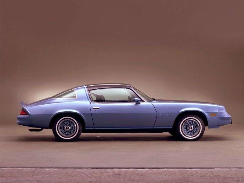 Chevrolet Camaro 2nd generation [2nd restyling] T top targa 5.7 AT (1978–1981)
