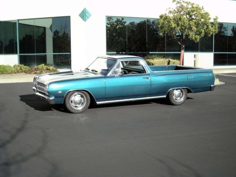 Chevrolet El Camino 2nd generation [restyling] pickup 3.8 Synchromesh Overdrive (1965–1965)