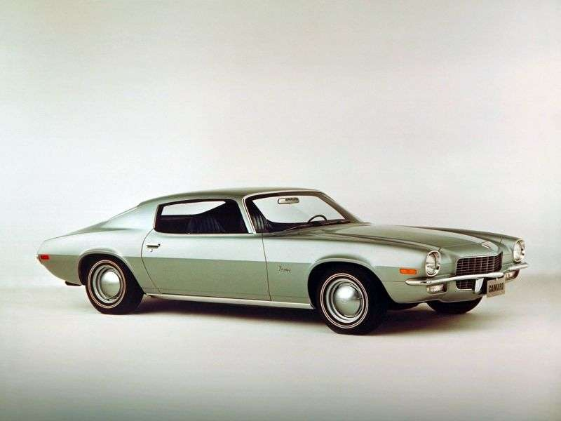 Chevrolet Camaro 2nd generation coupe 4.1 Powerglide (1970–1970)