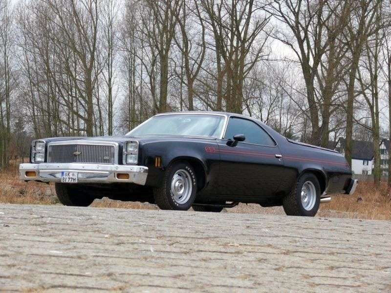 Chevrolet El Camino 4th generation [4th restyling] Classic pickup 4.1 MT (1977–1977)